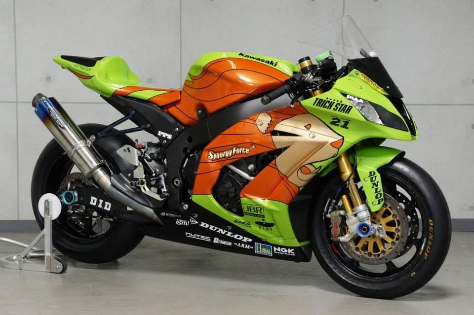 Kawasaki ZX-10R Team SynergyForce Trick Star Racing @ 24 Hours Le
