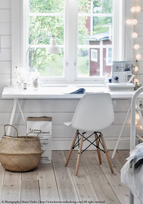 12 ideas para decorar con una cesta natural de estilo - Decorar estilo nordico ...
