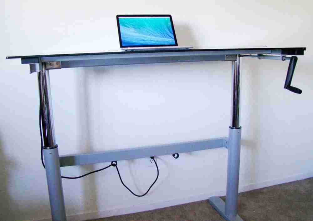Merveilleux DIY Adjustable Standing Desk