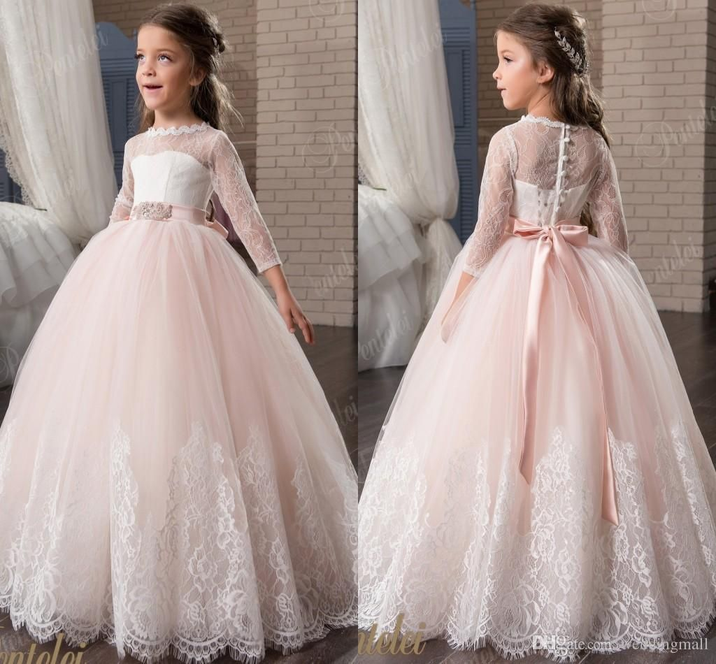 simple elegant ball gown for kids