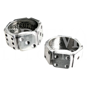 Hi-Roller Dice Ring - AG-ULR3 by Medieval Collectibles