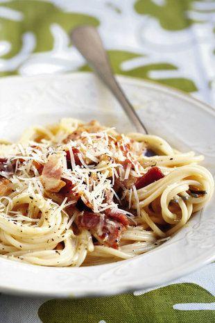 Spaghetti-carbonara | SARIE |