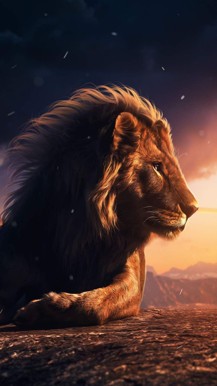 Lion King 4K iPhone Wallpaper - iPhone Wallpapers