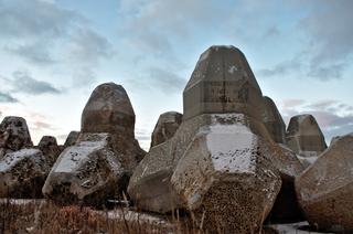 Concrete Tetrapods [4946x3280] AbandonedPorn