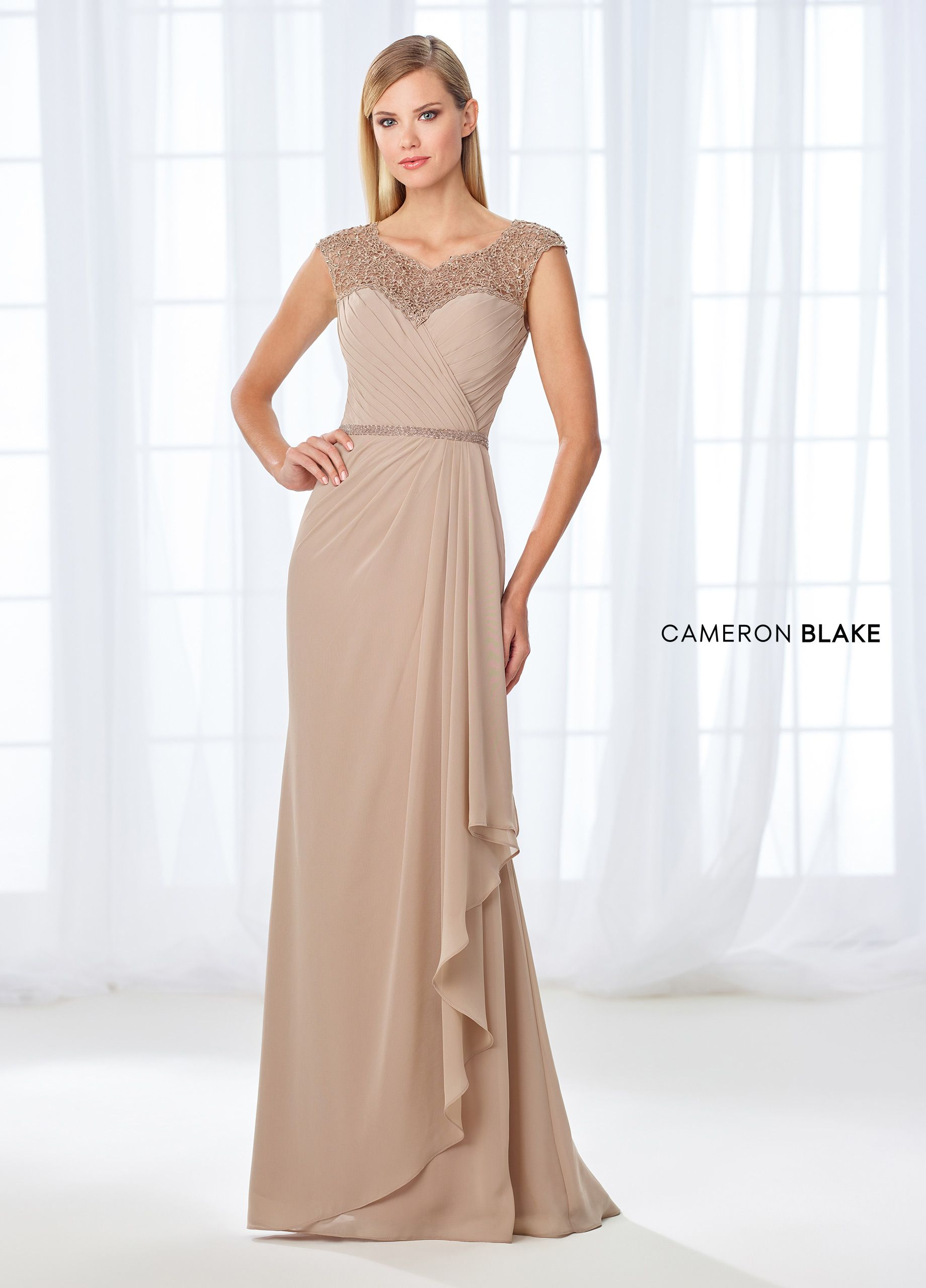 1fcabfcfdf Cameron Blake Mother of the Bride Dresses   Dress Suits 2019 in 2019 ...