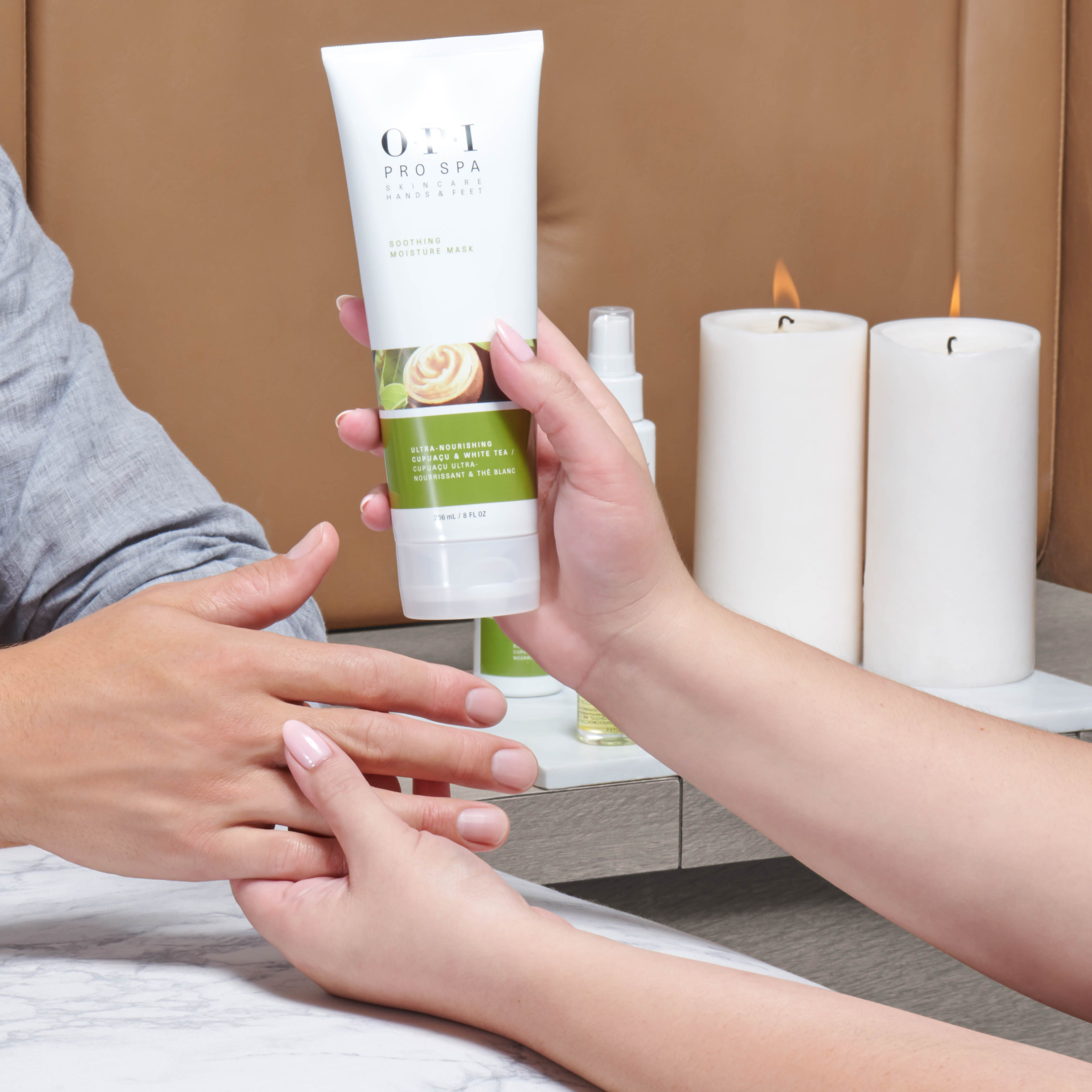 Maniup And Make Sure You Always Ask For The Opiprospa Soothing Moisture Mask To Get The Most Out Of Every Manicure Serv Moisturizer Spa Manicure Skin So Soft