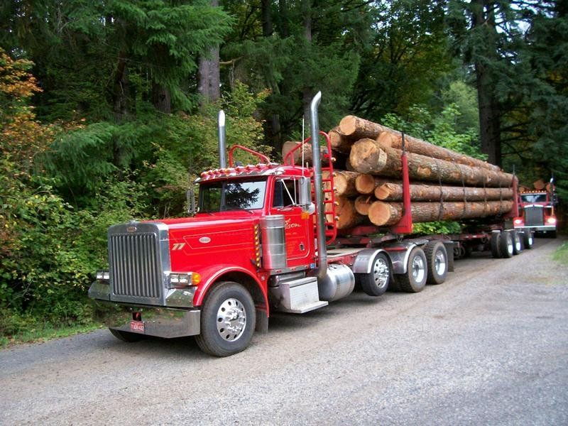 Custom Logger for Joel Olson by General Trailer. | Logging ...
