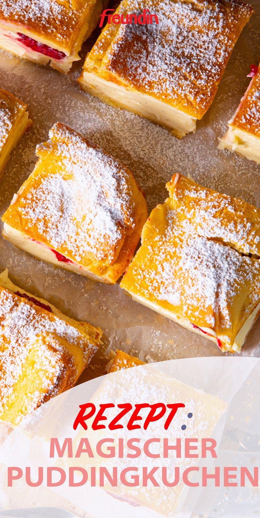 Süßes Rezept: Magischer Puddingkuchen   freundin.de