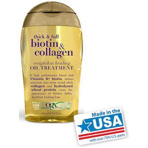OGX Biotin & Collagen Weightless Healing Oil | Natural hair