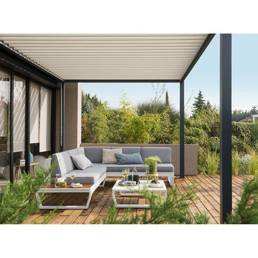 Salon de jardin bas aluminium | Brasseriedb