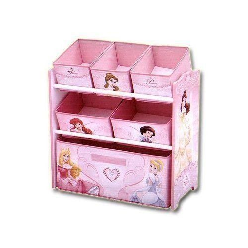 Disney #Princess Multi Bin #Toy Box #Organizer | Girls Bedroom ...