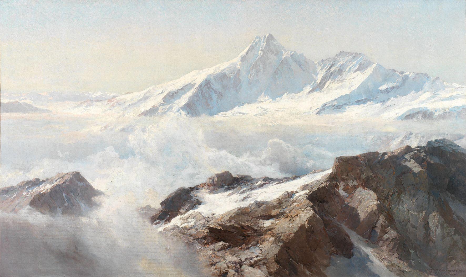 Edward Theodore Compton | Landscape Painting | Pinterest ...