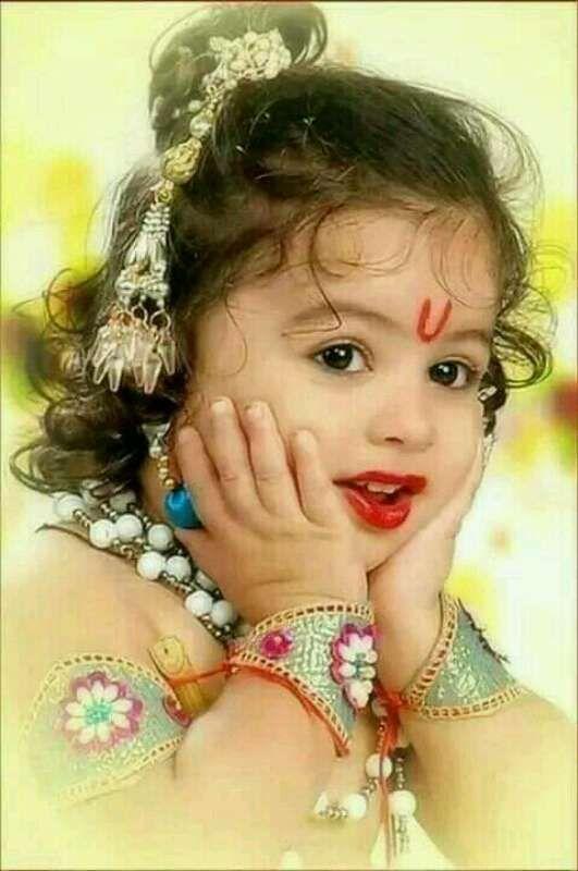 Sidhi B S Profile Baby Girl Photography Little Krishna Cute Krishna