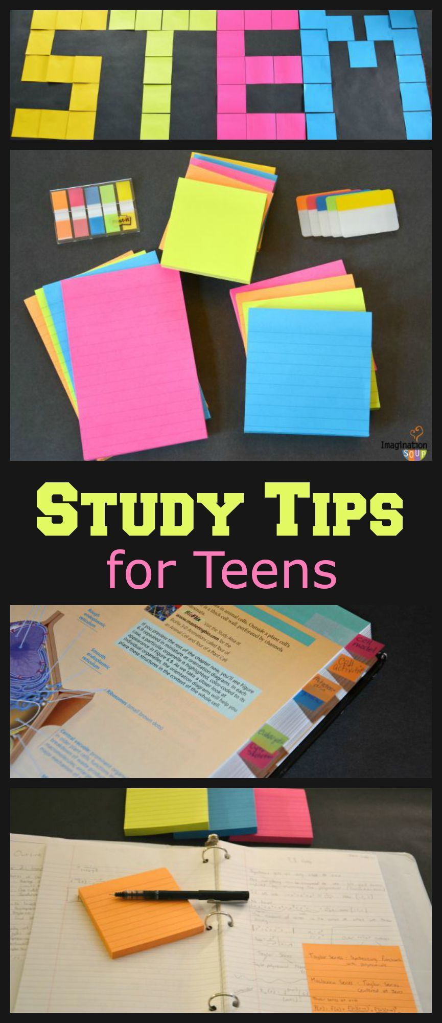 Stem Study Tips Teens Habits School