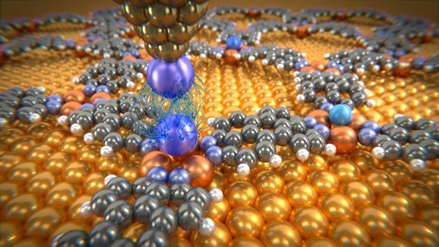 Researchers at the University of Basel in Switzerland say that they have made the first ever direct measurements of the strength of the tiny van der Waals forces passing between individual atoms. Though weak compared with covalent bonds, van der Waals forces are fundamental for the function of biological systems and define the properties of many organic compounds.