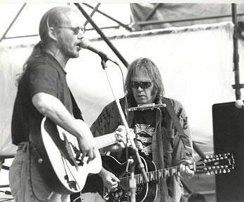 Warren Zevon and Neil Young
