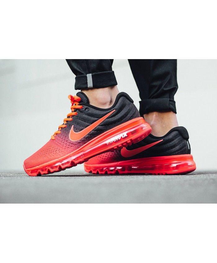 Chaussure Homme Nike Air Max 2017 Bright Rouge Noir | Nike