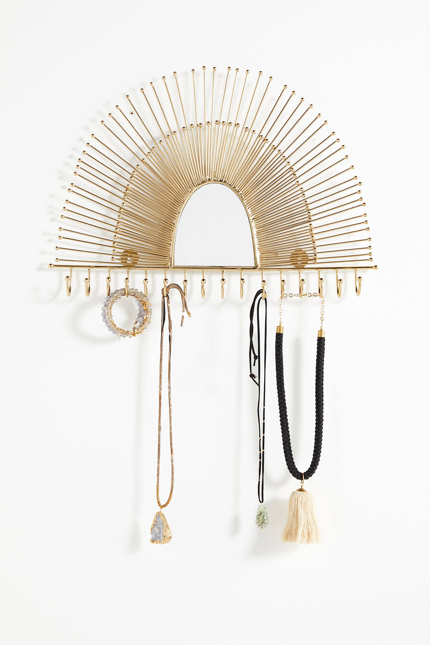 Naomi Jewelry Rack is part of Precious jewelry, Jewelry rack, Jewelry pieces, Modern jewellery design, Childrens jewelry, Jewelry armoire - Shop the Naomi Jewelry Rack at Anthropologie today  Read customer reviews, discover product details and more