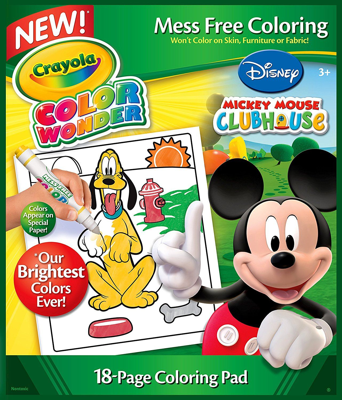 Crayola Color Wonder Disney Preschool Coloring Pad | Emmas Christmas ...