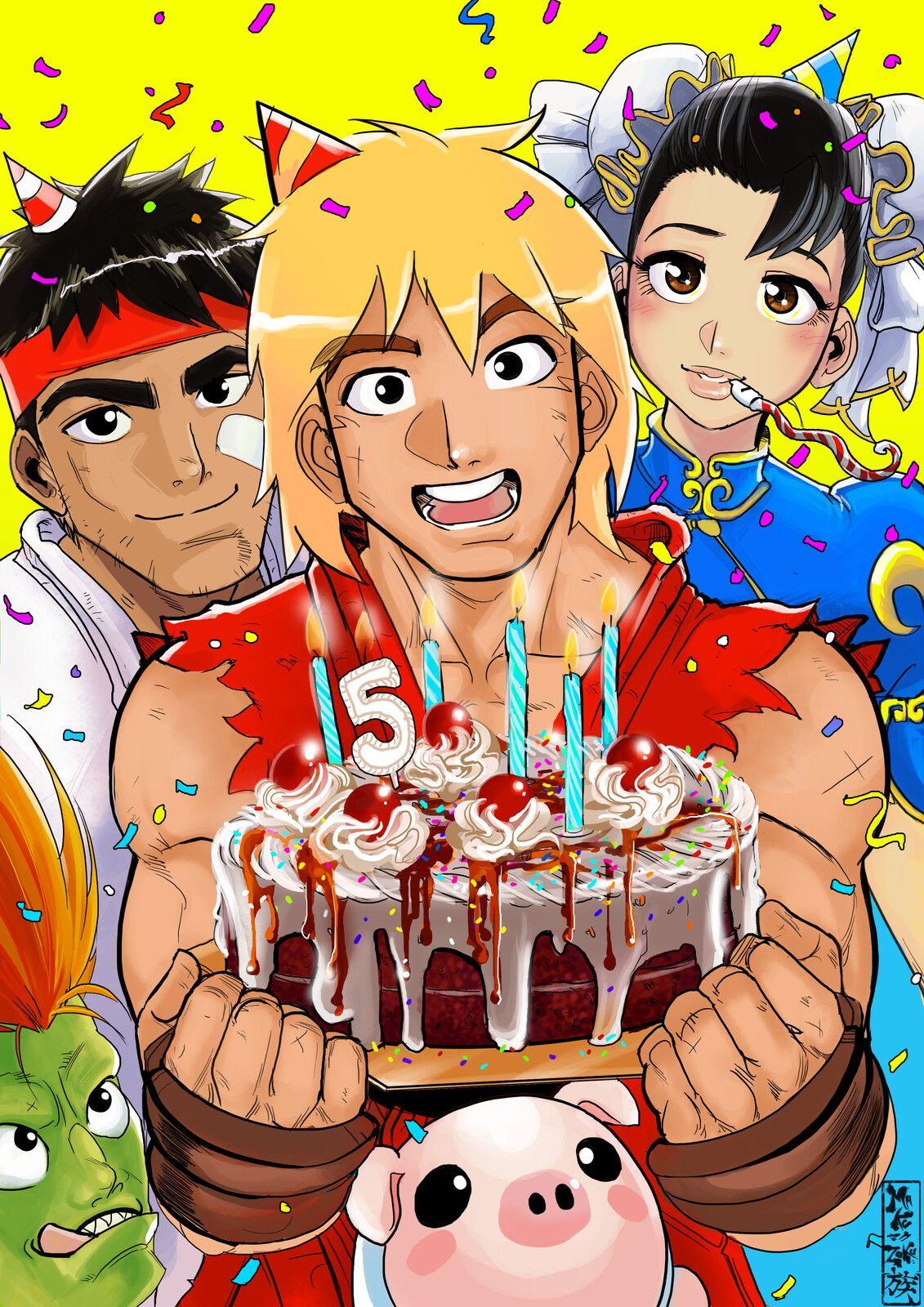 Custom Happy Birthday Gift , Maku Zoku on ArtStation at