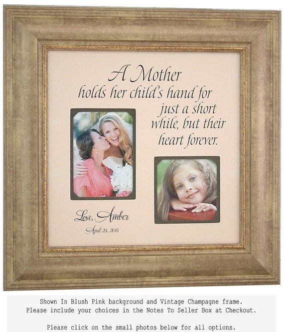 Mother Daughter Personalized Wedding Gift, Mother of the Bride ...