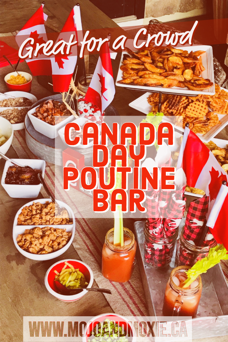The Great Canadian Poutine Bar a Canada Day menu for a