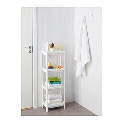 Vesken Open Kast Wit 23x100 Cm Ikea Badkamer Kast