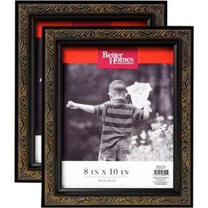 Better Homes And Gardens 2pk 8 X 10 Ornate Picture Frame Antique Black 15 97 Online Only Ornate Picture Frames Better Homes And Gardens Better Homes