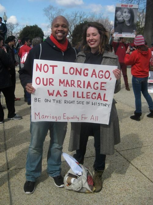 Equality For All- my coworker, just found this picture in the history category on pinterest!  How cool is that?!, my