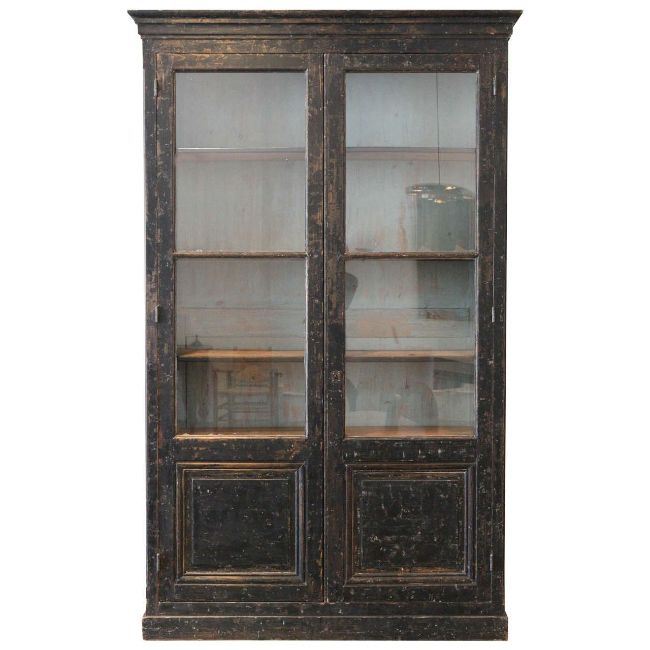 Massive French Library Cabinet Late 18th Century 1stdibs Com Cabinet Library Cabinet Antique Cabinets