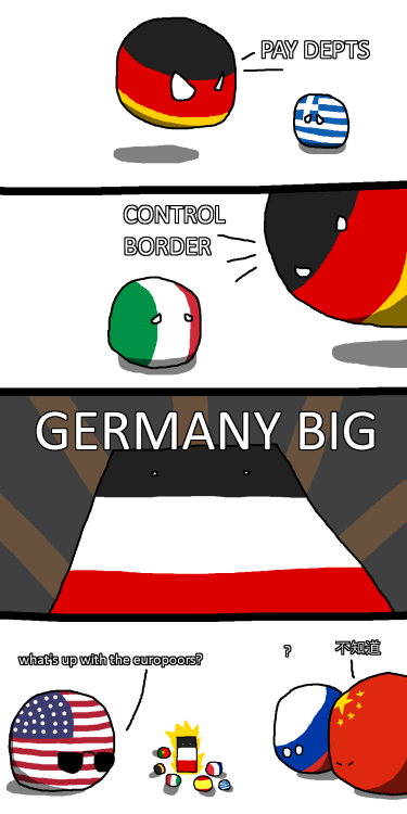 Size Is Relative Via Reddit Polandball Funny Memes History