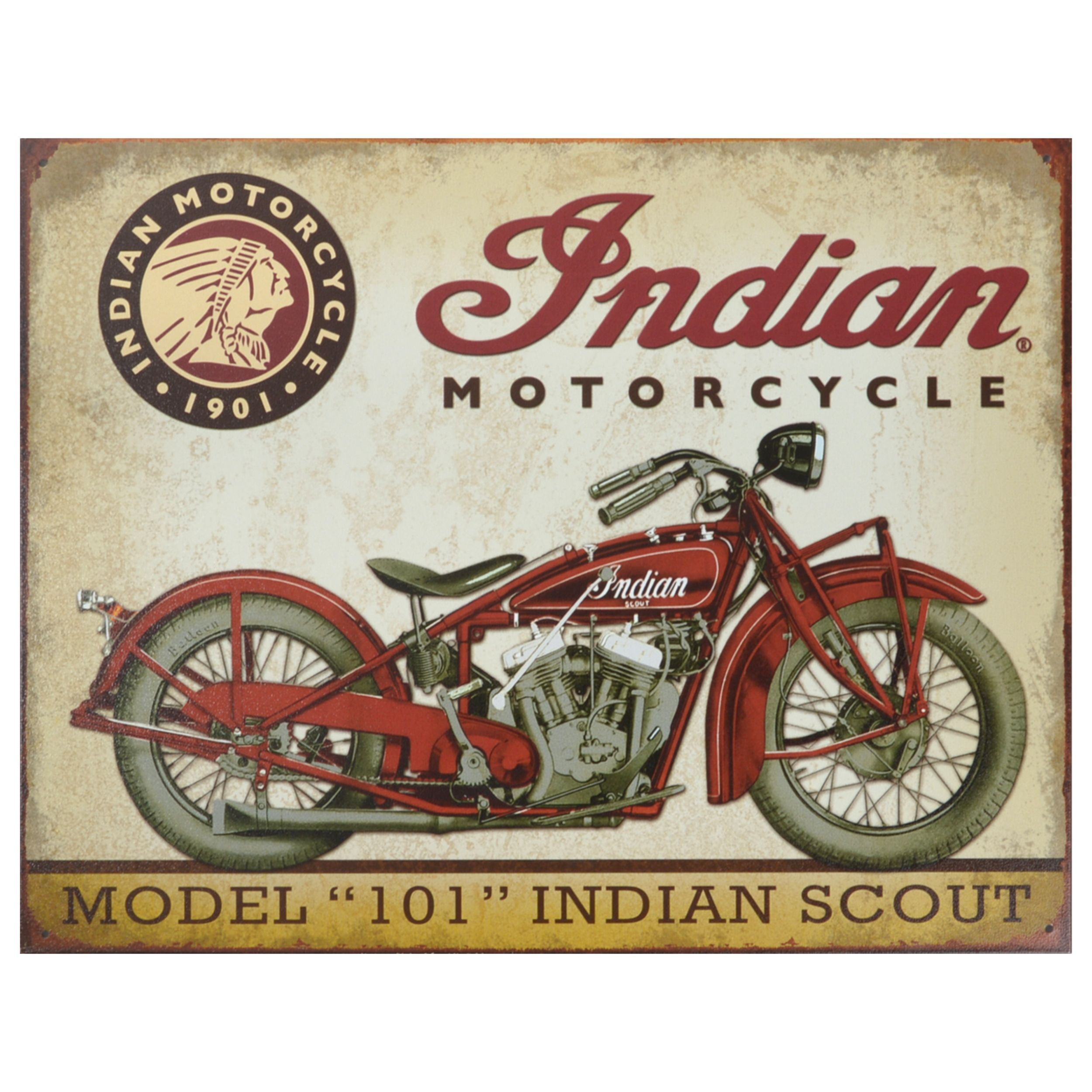 Tin Sign 30 x 40 cm Metal Colourful Nostalgic-Art Harley-Davidson-Logo Blue