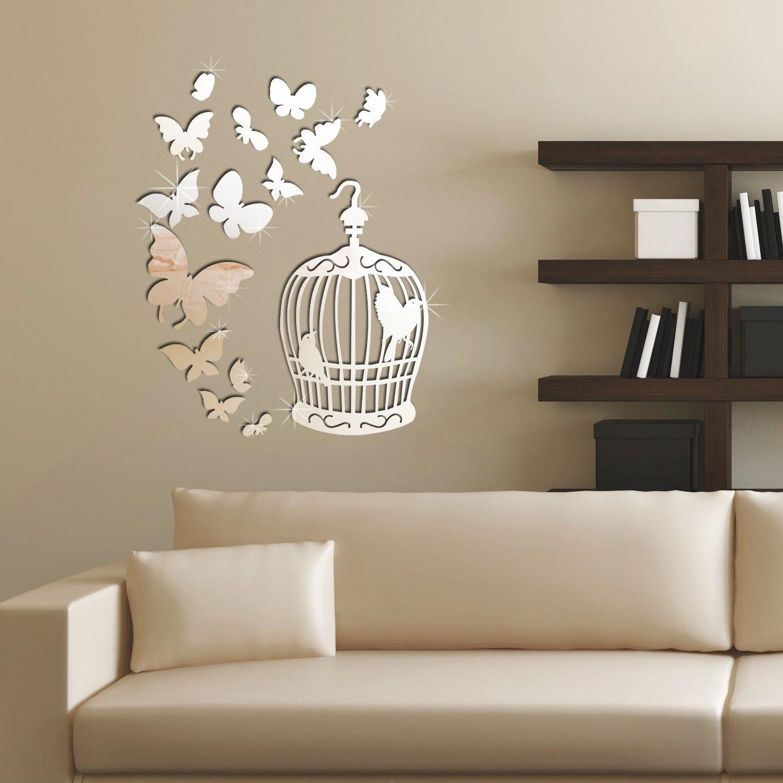Mirror Adhesive Wall Art