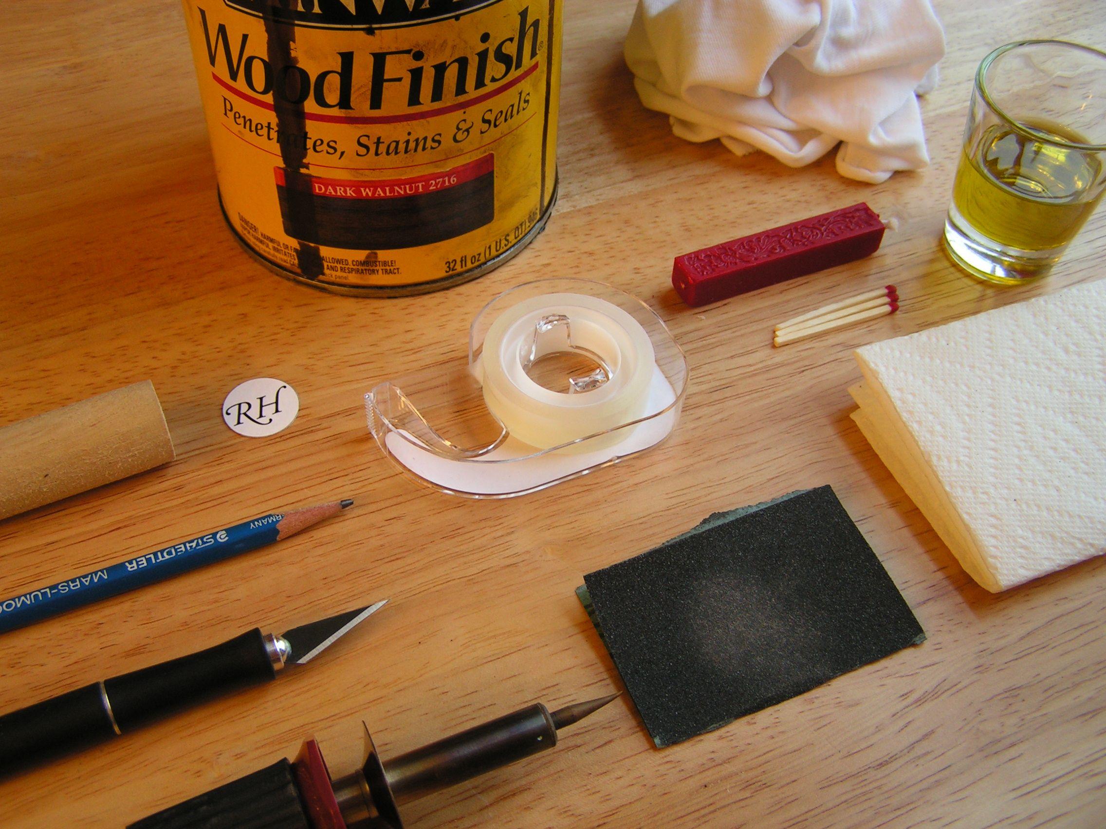 DIY Wooden Wax Seal Beeswax diy, Diy wax, Wax seals