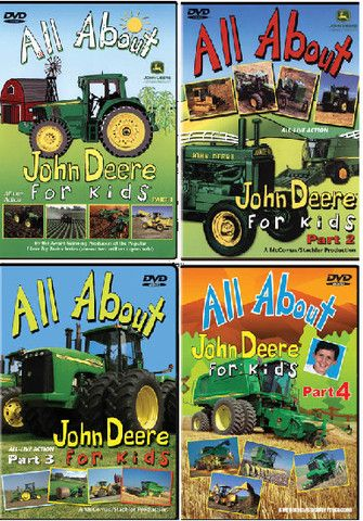 All About John Deere Kids DVD – GreenToys4u.com #DVD #movies #johndeere