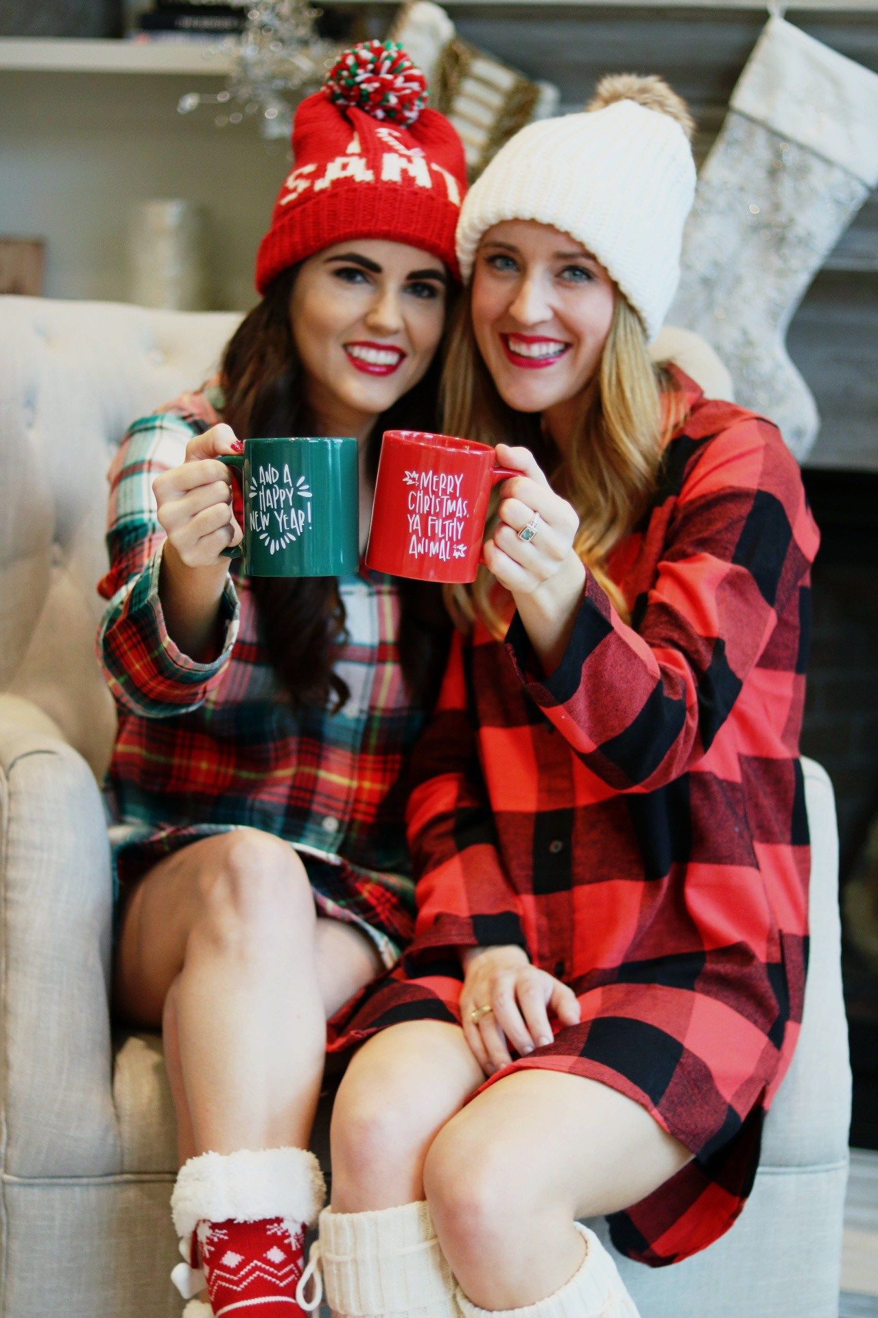 Merry Little Plaid Christmas Lovely Little Fashion