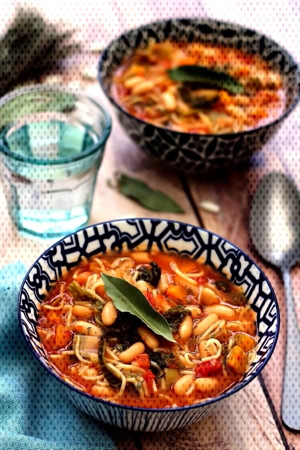Minestrone dhiver - Amandine Cooking