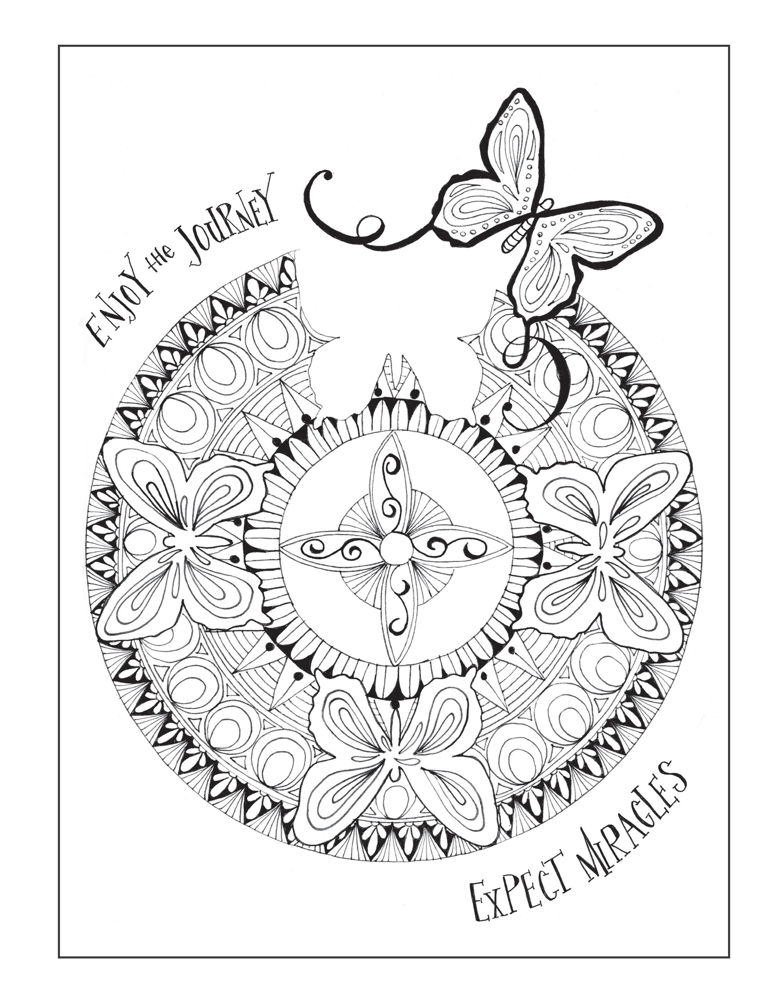 Sobriety Coloring Pages