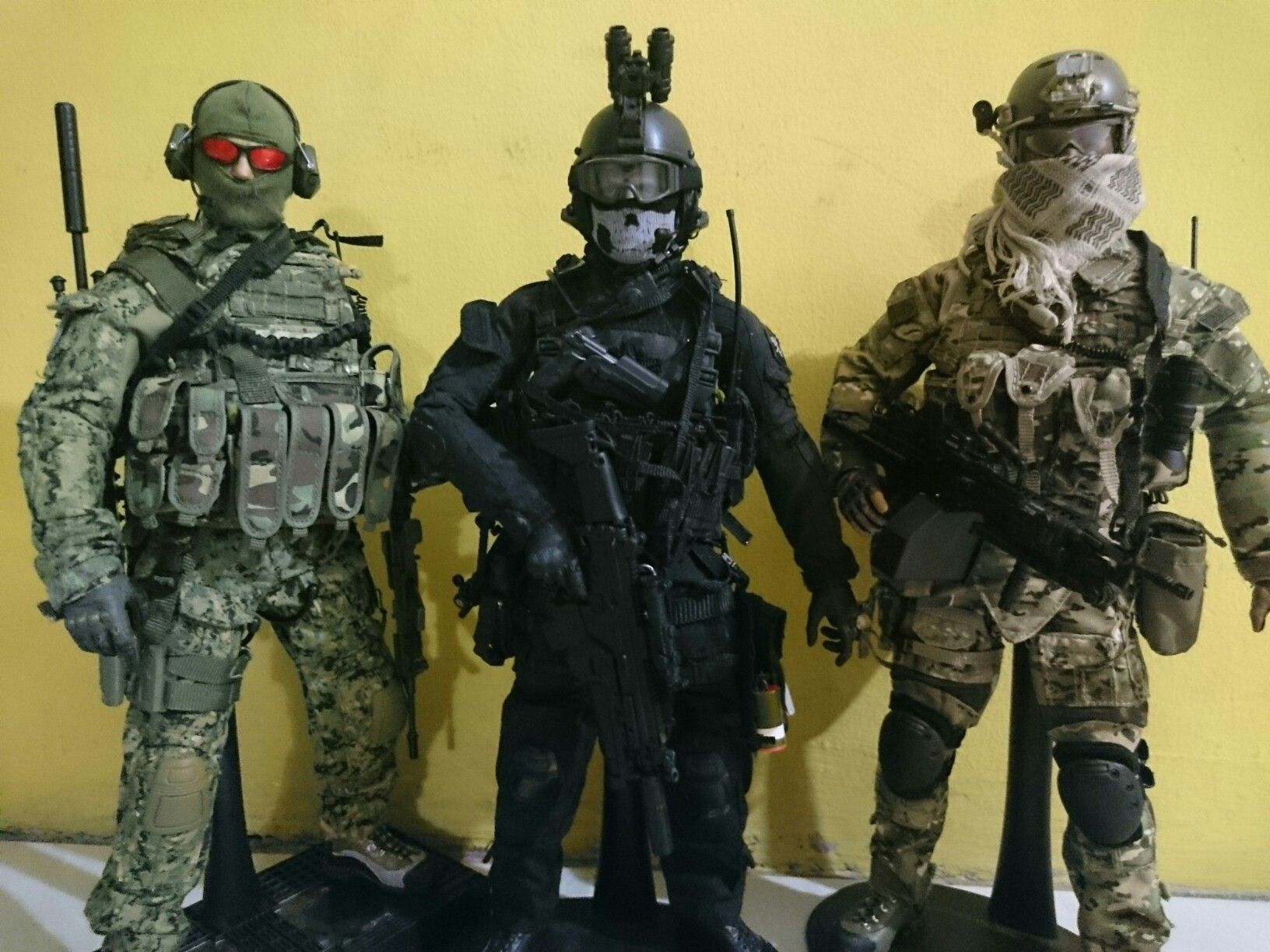 Ghost Squad | soldier | Seal team 6, Action figures, Military fashion