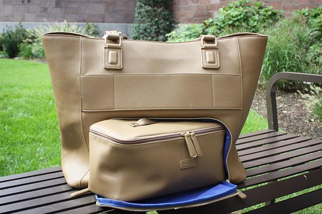 edada641c Meet our beautiful new Parker tote! Shes big enough to fit your 15 laptop  case perfect for all of your travel needs and even comes with a vegan  leather ...