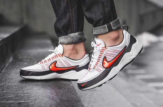 new product b3c95 9dfc9 Team Orange Highlights This Nike Air Zoom Spiridon One of the biggest  releases of the Nike