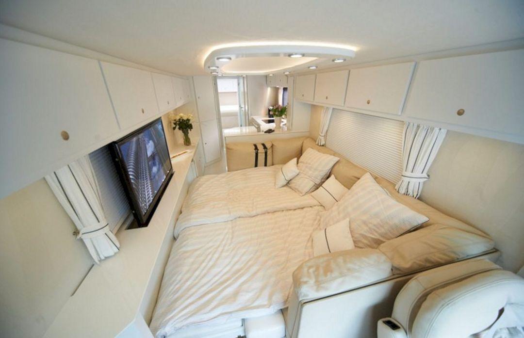 Nice 25+ RV Bedroom Interior To Make It More Comfortable ...