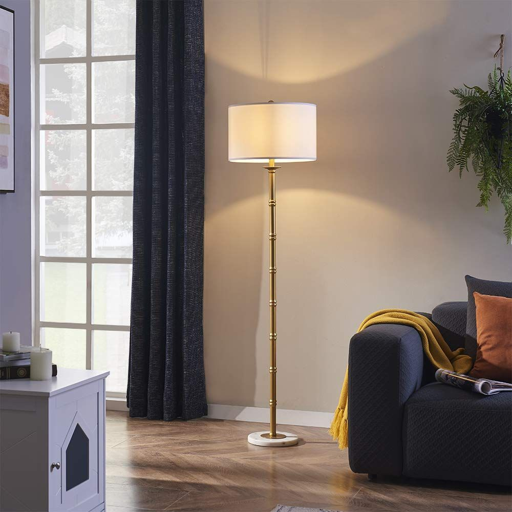 Universe Floor Lamp, Standing Reading Light with Natural
