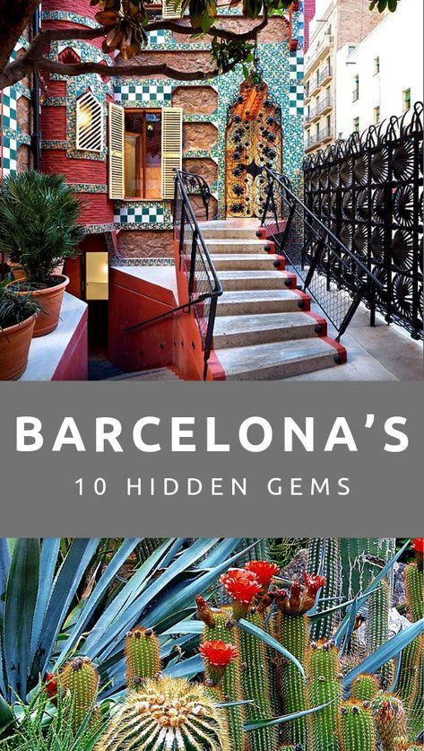 There's more to Barcelona than beaches, more to the old part of town than La Rambla, and more to Gaudi than Parque Guell. Check out 10 of our favourite hidden gems in the city... #barcelona #spain #travel #hiddengems #secret