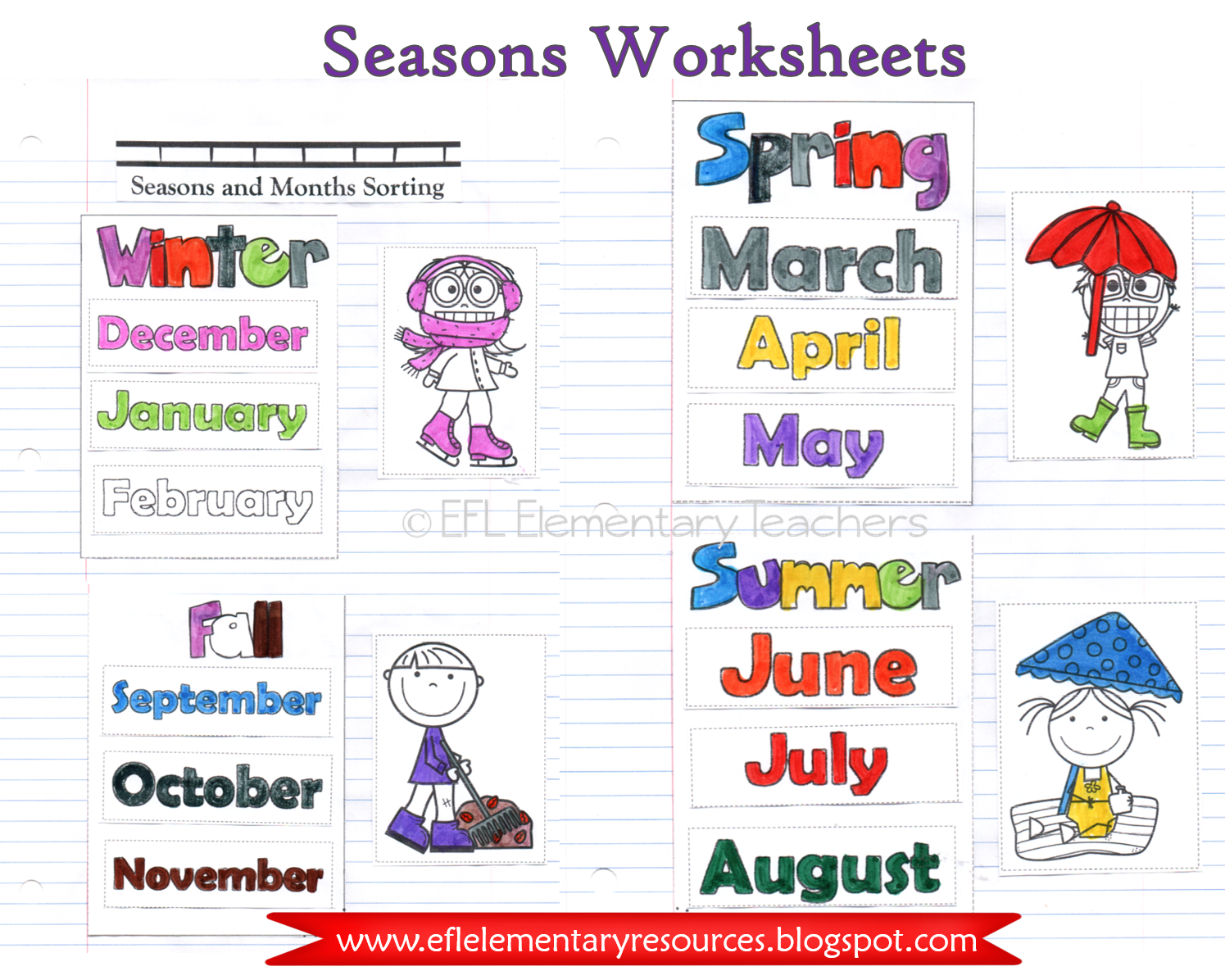 Seasons And Months In