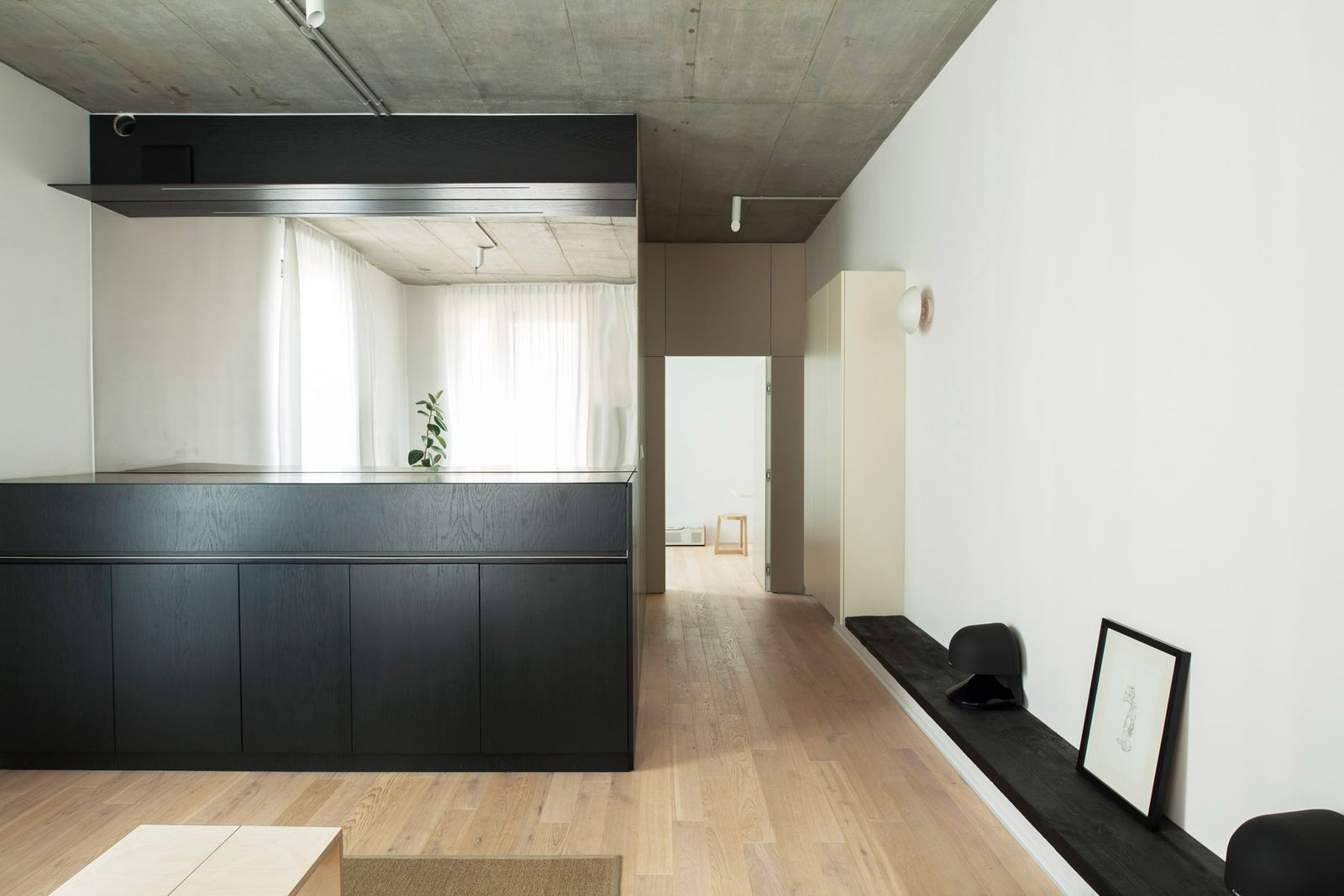 Minimalist Holiday Apartment Created In Former Vodka