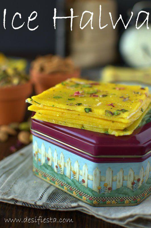 Ice Halwa  Bombay Mahim Halwa Recipe   Bombay Paper Halwa ...