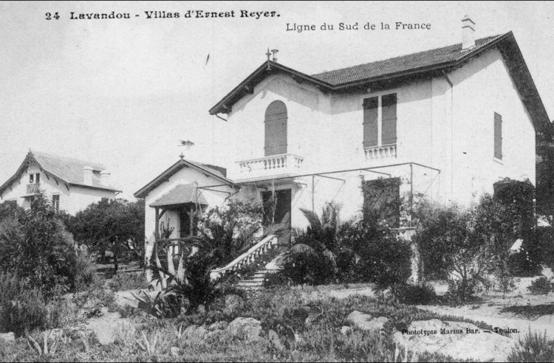 Le Lavandou Villa D Ernest Reyer Ligne Du Sud De La France A