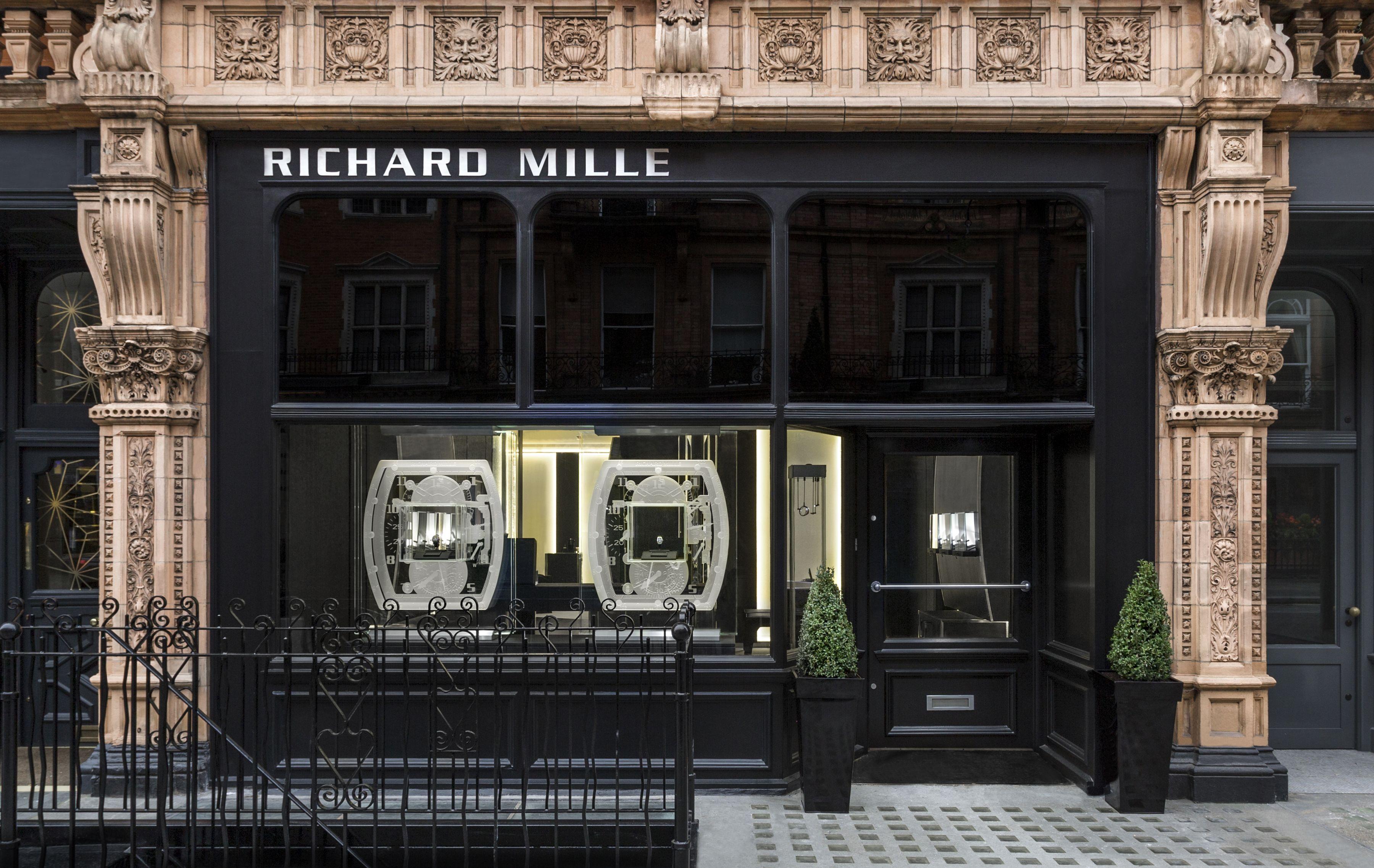 Richard Mille Boutique London at 90 Mount Street, Mayfair