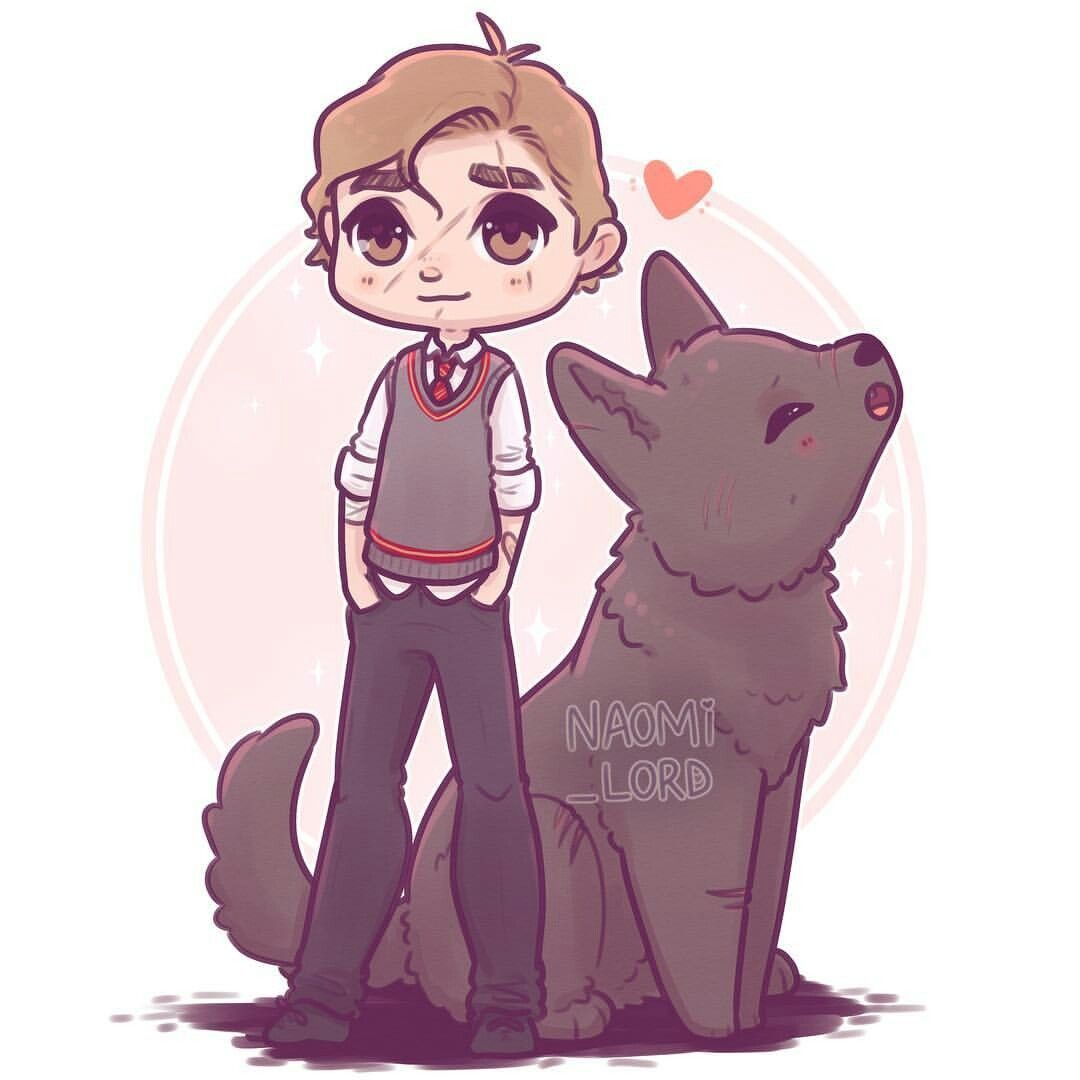 Remus Lupin By Naomi Lord Fandoms United En 2019 Anime De Harry Potter Dibujos Y